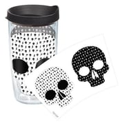 Tervis Tumbler On Trend Black and White Skulls Tumbler with Lid; 16 oz.