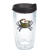 Tervis Tumbler Sun and Surf Crab Tumbler with Lid; 16 oz.