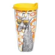 Tervis Tumbler On Trend Giraffe Glasses Tumbler w/ Lid; 24 oz.