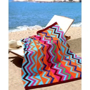 Buettner USA Cotton Velour Terry 400 GSM Beach Towel