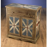 AA Importing Britania 1 Drawer and 2 Door Chest