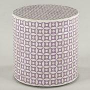 World Interiors Seville Tatum End Table; Lilac