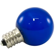 American Lighting LLC 0.5W Blue Frosted 120-Volt LED Light Bulb (Set of 25)