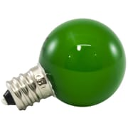 American Lighting LLC 0.5W Green Frosted 120-Volt LED Light Bulb (Set of 25)