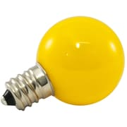 American Lighting LLC 0.5W Yellow Frosted 120-Volt LED Light Bulb (Set of 25)