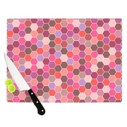 KESS InHouse Blush Cutting Board; 8.25'' H x 11.5'' W