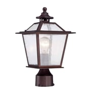 Acclaim Lighting Salem 1 Light Outdoor Post Light; Architectural Bronze
