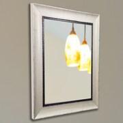 Rayne Mirrors American Made Rayne Jaded Ivory Wall Mirror; 40'' H x 30'' W x 1.5'' D
