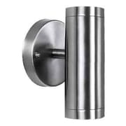 Acclaim Lighting 2 Light Outdoor Sconce; Stainless Steel