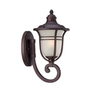 Acclaim Lighting Montclair 1 Light Outdoor Sconce; Architectural Bronze