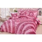 DaDa Bedding Rose 5 Piece California King Comforter Set