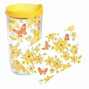 Tervis Tumbler Garden Party Flowers and Butterflies Tumbler with Lid; 16 oz.