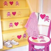 Wallies Candy Skulls Wall Decal (Set of 4)