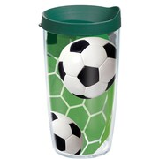 Tervis Tumbler Game On Soccer Tumbler with Lid; 24 oz.