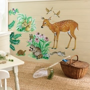 Wallies Woodland Animals Wall Decal (Set of 2)