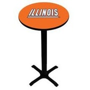 Wave 7 NCAA Pub Table; Illinois - Orange