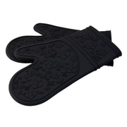 LCM Home Fashions, Inc. Kitchen Cooking Oven Mitt; Black