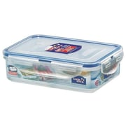Lock & Lock 2.4-Cup Rectangular Container with 2-Section Divider
