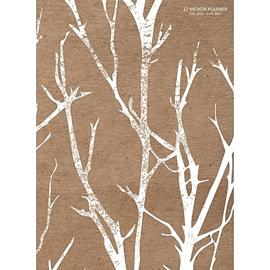 TF Publishing 2017 Academic Year Birch Trees Simplicity Planner