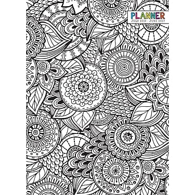 TF Publishing 2017 Academic Year Colour Me Monthly Simplicity Planner