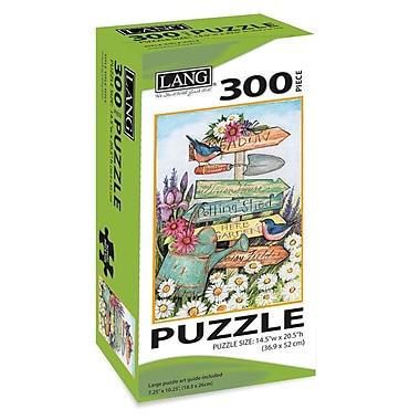 LANG Garden Sign Jigsaw Puzzle, 300 Pieces, (5040101)