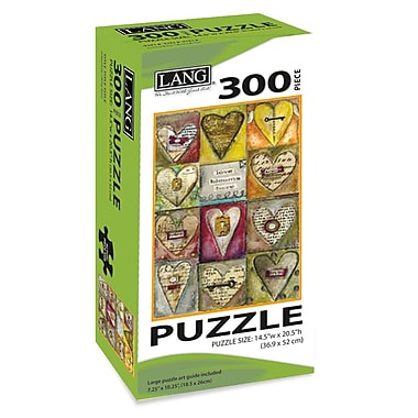 LANG Key To My Heart Jigsaw Puzzle, 300 Pieces, (5040102)