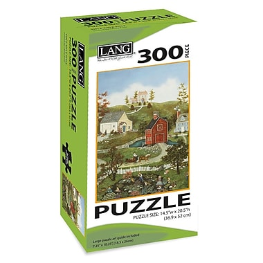 LANG Village On The Bay Jigsaw Puzzle, 300 Pieces, (5040104)