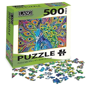 LANG Cacophony Of Color Jigsaw Puzzle, 500 Pieces, (5039107)