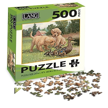 LANG Follow The Leader Jigsaw Puzzle, 500 Pieces, (5039111)