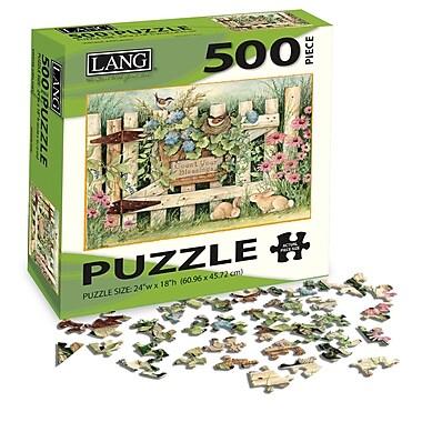 LANG Garden Gate Jigsaw Puzzle, 500 Pieces, (5039112)