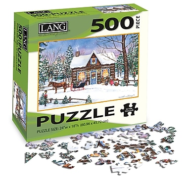 LANG Magical Evening Jigsaw Puzzle, 500 Pieces, (5039117)