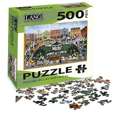 LANG Village Celebration Jigsaw Puzzle, 500 Pieces, (5039125)