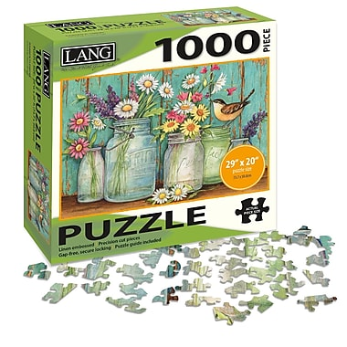 LANG Mason Flowers Jigsaw Puzzle, 1000 Pieces, (5038018)