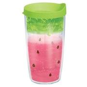 Tervis Tumbler Eat Drink Be Merry Watermelon Splash Tumbler w/ Lid; 16 oz.