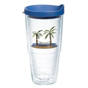 Tervis Tumbler Sun and Surf Palm Tree and Hammock Tumbler w/ Lid; 24 oz.