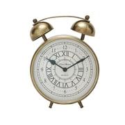 Woodland Imports Table Clock; 8'' H X 7'' W X 3'' D