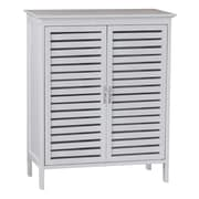 Gallerie Decor Spa 24.5'' x 30'' Free Standing Cabinet; White