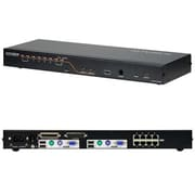 Aten® KH2508A 8 Port Cat 5 High-Density Desktop KVM Switch