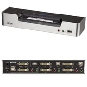 Aten® CS1642A 2 Port USB - DVI Dual View KVM Switch
