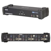Aten® CS1782A 2 Port USB DVI Dual Link Desktop KVMP Switch
