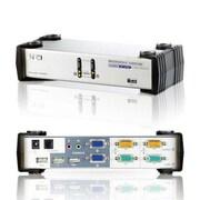 Aten® CS1742 2 Port USB Dual View KVM Switch