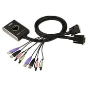 Aten® CS682 2 Port USB 2.0 DVI Desktop KVM Switch