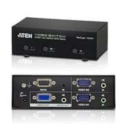 Aten® VS0201 2 Port VGA Audio/Video Switch