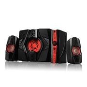 AVerMedia® GS315 Ballista Trinity 77 W 2.1 Speaker System, Black/Red