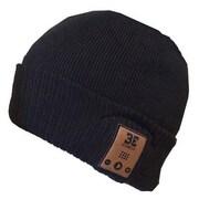 BE Headwear DD0010 Diver Down Smart Headwear with Built-In Bluetooth Speaker, Ink Black