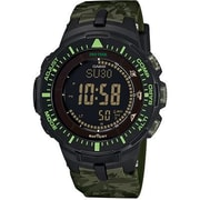 Casio® Pro Trek Solar Powered Digital Smart Watch, Green (PRG300-7)