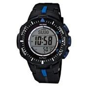 Casio® Pro Trek Solar Powered Digital Smart Watch, Black (PRG300-1A2)
