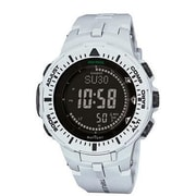 Casio® Pro Trek Solar Powered Digital Smart Watch, White (PRG300-7)