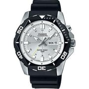 Casio® 3 Hand Super Illuminator Analog Sports Watch, White (MTD1080-7AV)