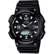 Casio® Self Charging Solar Powered Analog/Digital Sports Watch, Black (AQS810W-1AV)